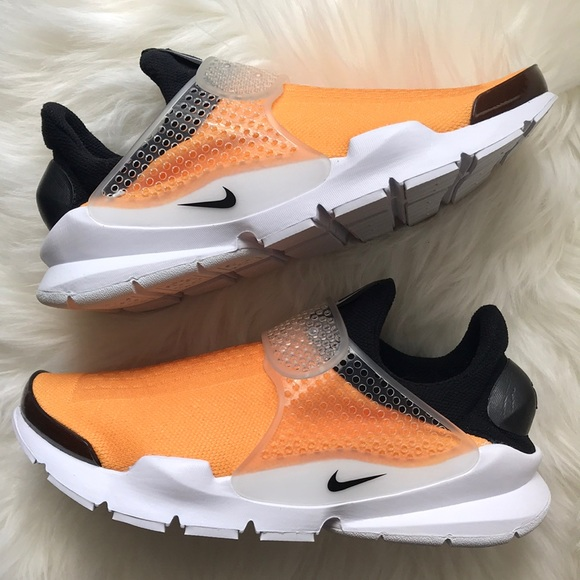on sale 9071f c82a7 NIKE ID SOCK DART BREATHE SHOES MUSTARD YELLOW NEW NWT